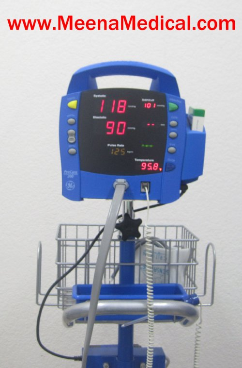 GE Dinamap ProCare 200 Vital Signs Monitor on