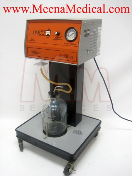 Gomco 3040 Mobile Aspirator Suction Pump Preowned In
