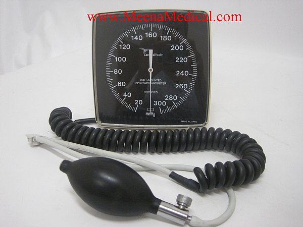 Cardinalhealth Wall Mounted Sphygmomanometer Preowned In