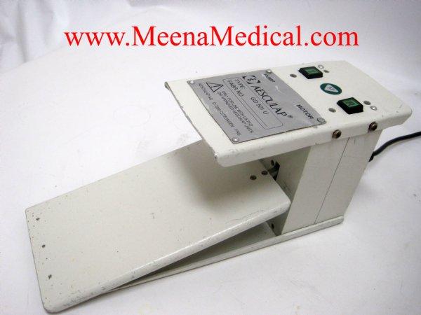 Aesculap D-7200 Tuttlingen Microtron Flush-Pump & GD-501U Footswitch