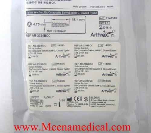 Arthrex Suture Anchor Biocomposite Swivelock C W Closed