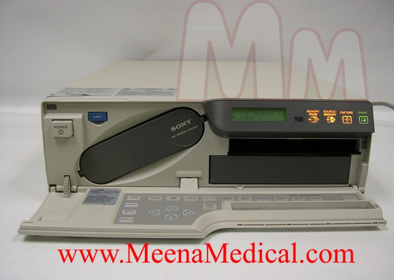 sony up 51md color printer preowned with good condition rh meenamedical com sony up-51md service manual Sony User Manuals
