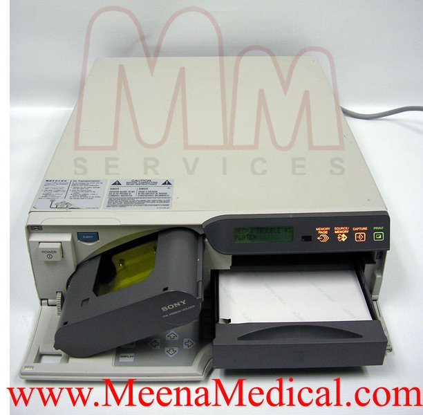 sony up 51md color printer preowned with good condition rh meenamedical com Sony TV Repair Manual Sony Google TV Owners Manual