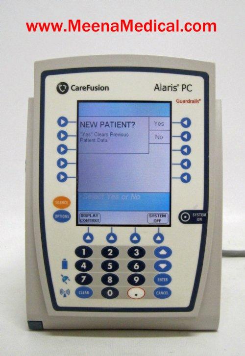 Endoscopy Room Equipment List: Alaris PCU 8015 Pump Module